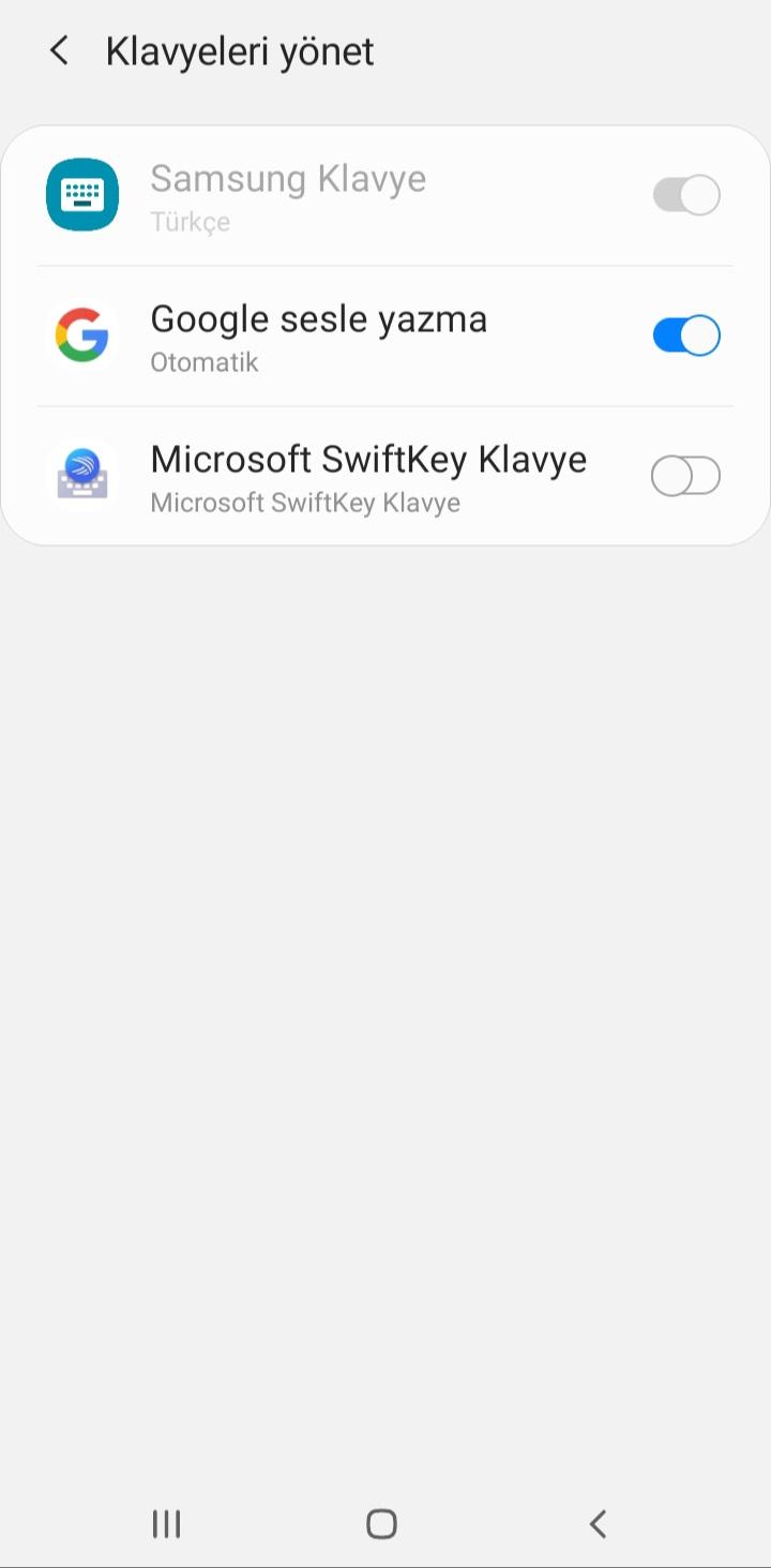 SwiftKey Klavye Ayarlar