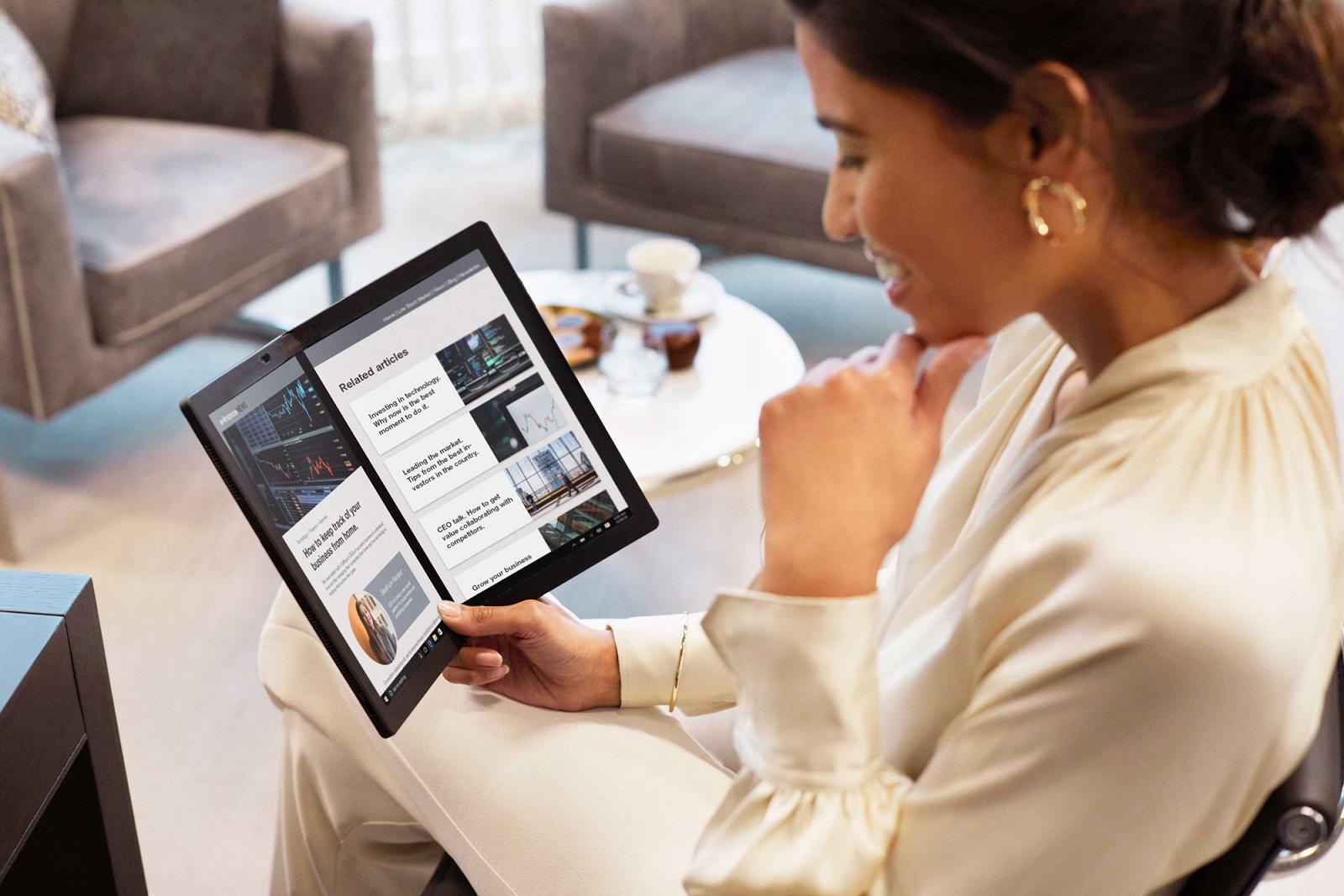 ThinkPad X Fold Ekran Özellikleri