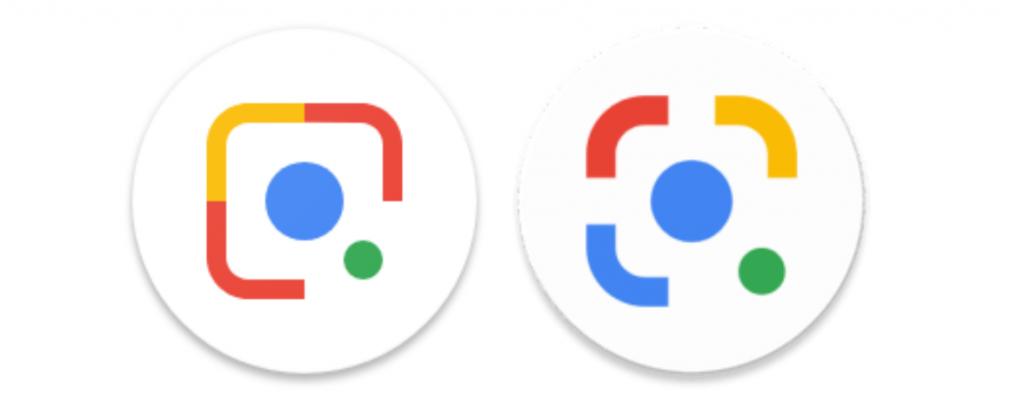 Google Lens Yeni Logo