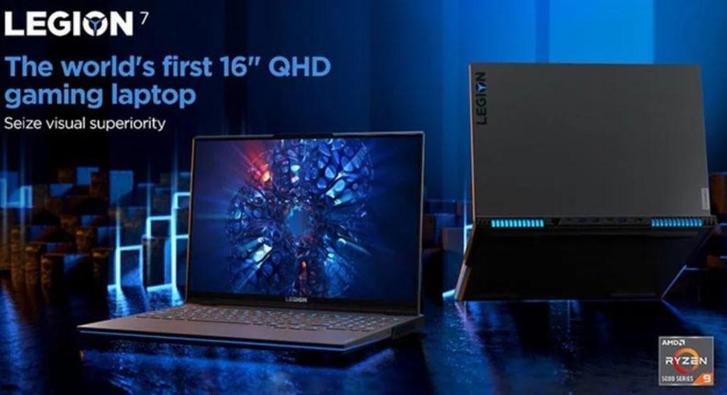 Lenovo Legion 7 AMD İşlemci