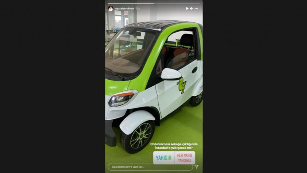 Paylaşımlı Elektrikli Scooter