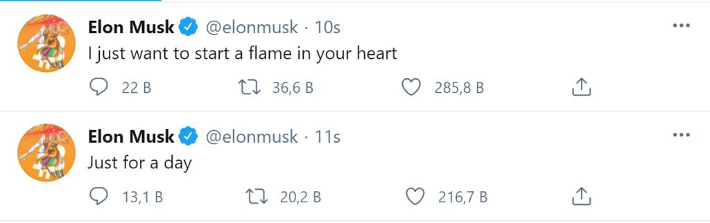 Elon Musk Twitter Profil Fotoğrafı