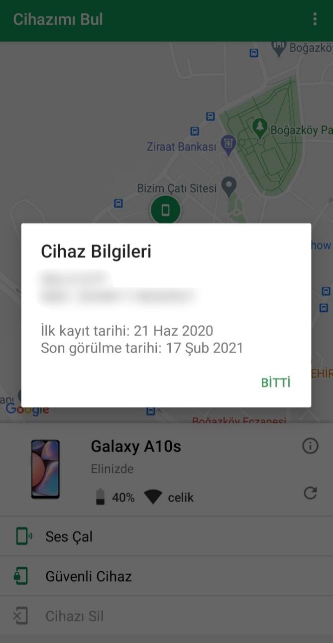Google Cihazımı Bul Uygulamasında Kaybolan Telefon Nasıl Bulunur?