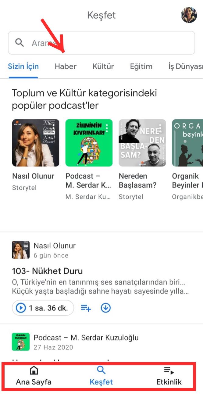 Google Podcasts Uygulamasında Nasıl Podcast Dinlenir? Nasıl Podcast İndirilir?
