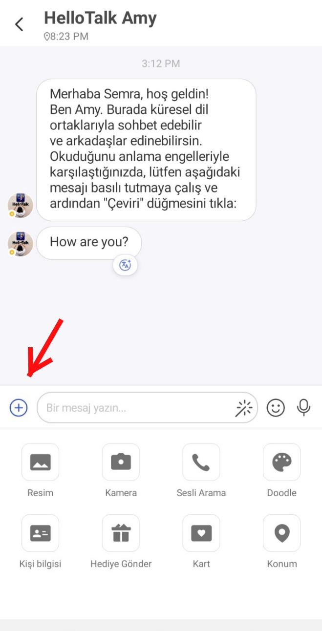 HelloTalk Nasıl Giriş Yapılır?