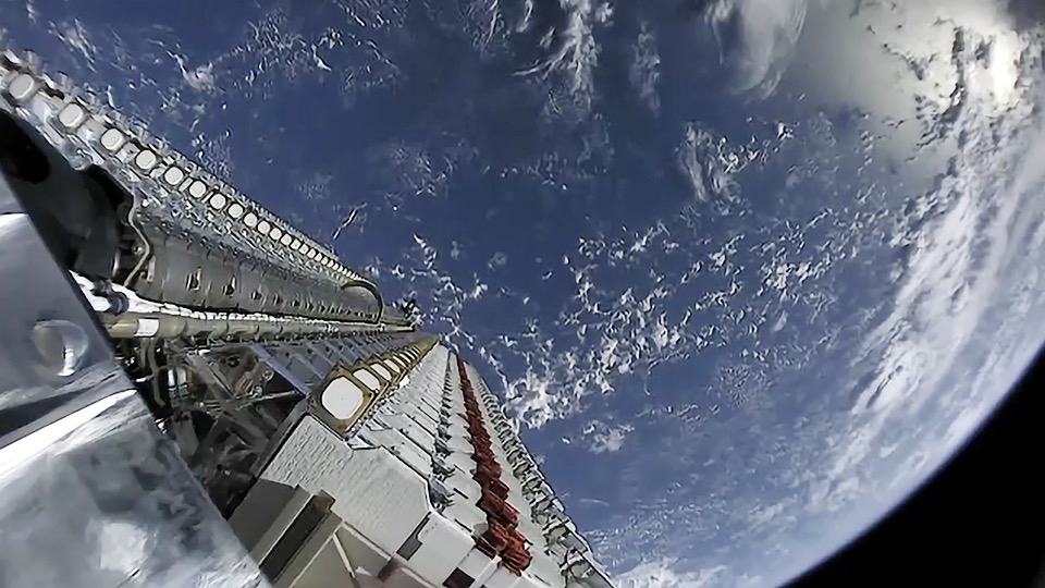 SpaceX Starlink Projesi