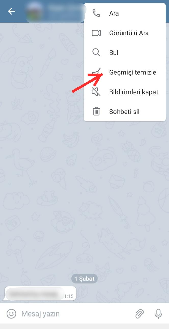 Telegram Otomatik Mesaj Silme Nedir?