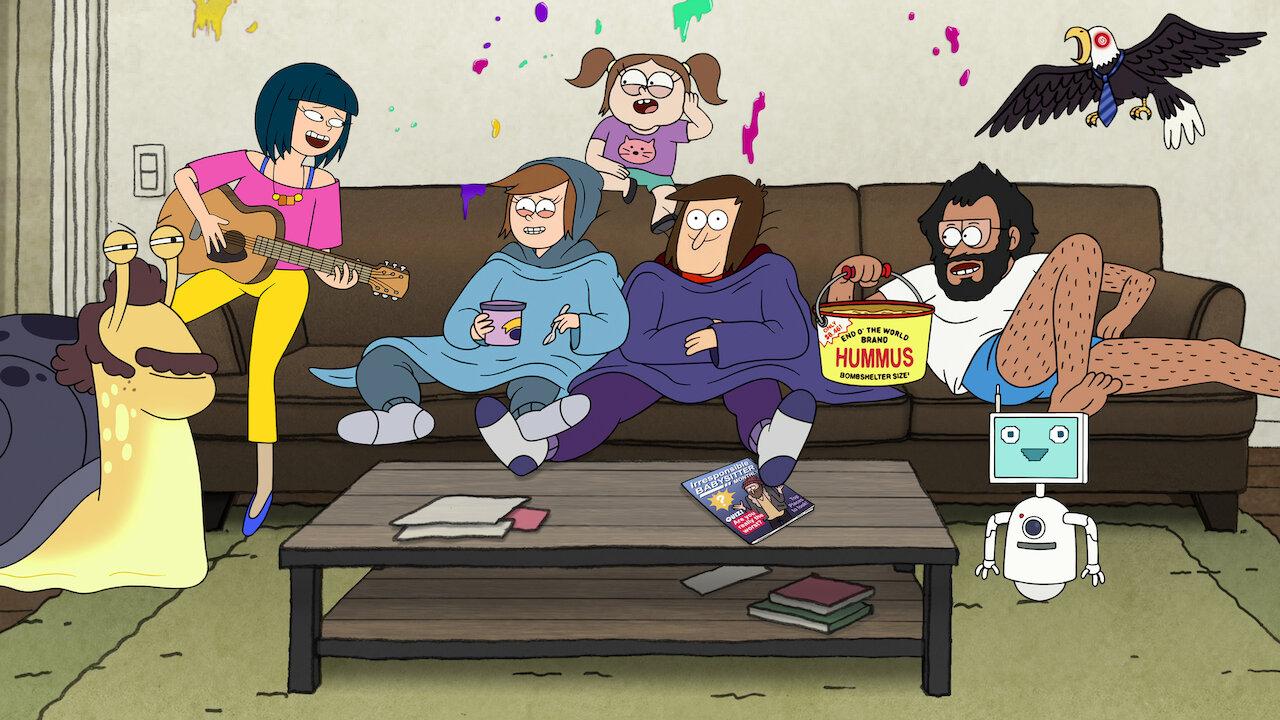 Netflix Yetişkinlere Yönelik Animasyon Diziler