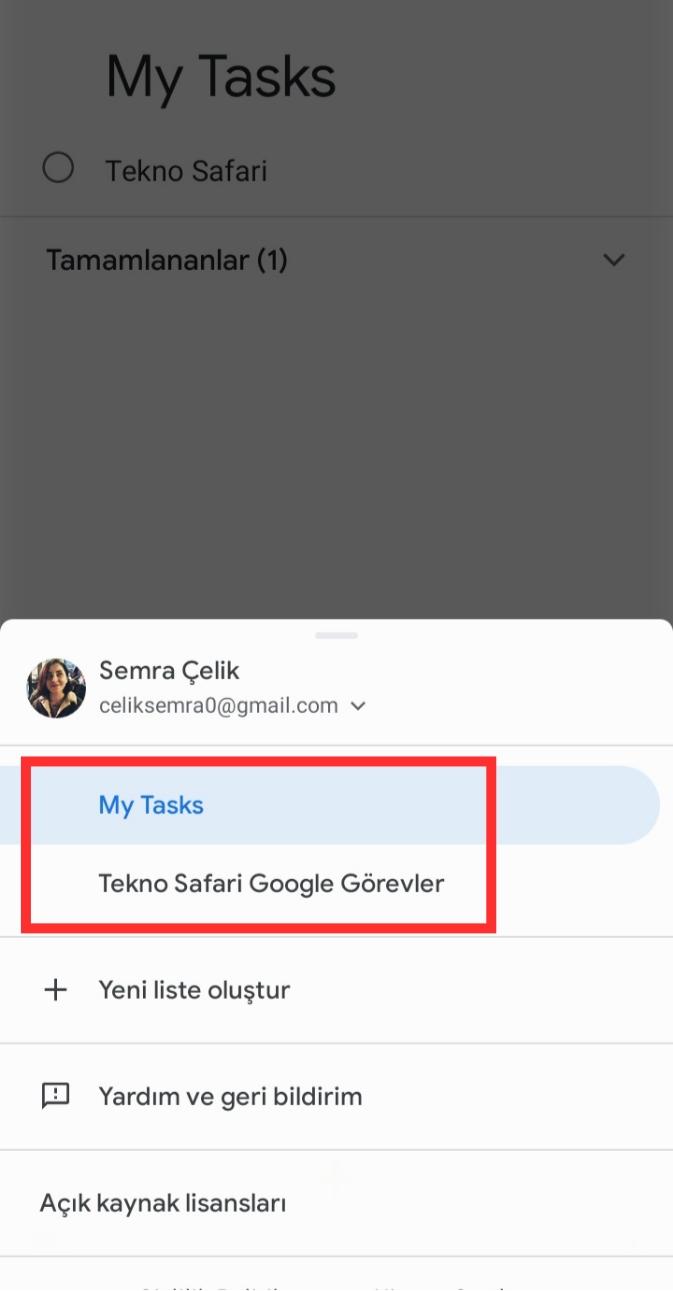 Google Görevler Nedir?