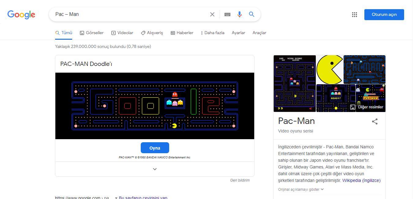Google Oyunları