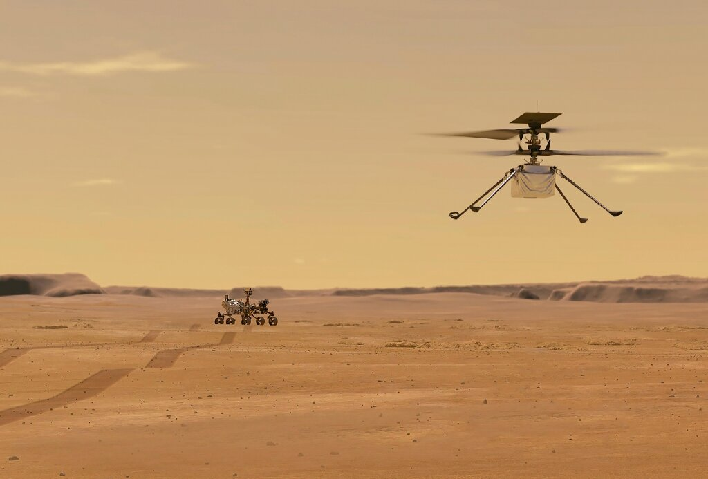 Ingenuity Helikopter
