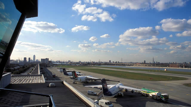 Londra Havalimanı Dijital Kontrol Kulesi