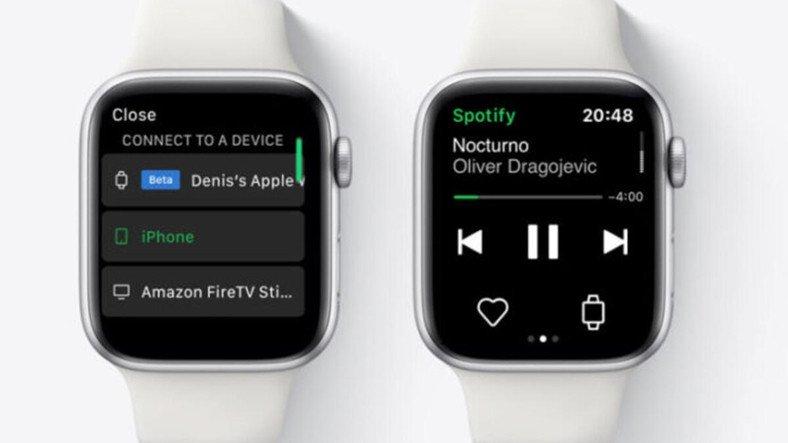 Apple Watch Spotify İndir Özelliği