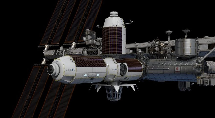 NASA Axiom Space İş Birliği
