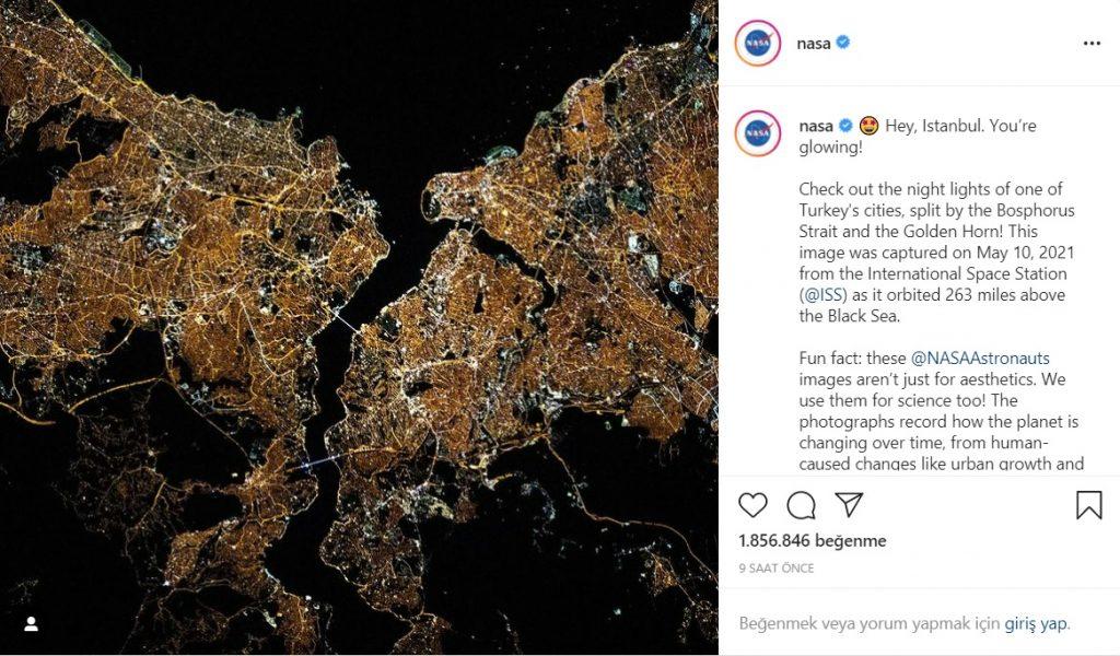 NASA İstanbul Fotoğrafı