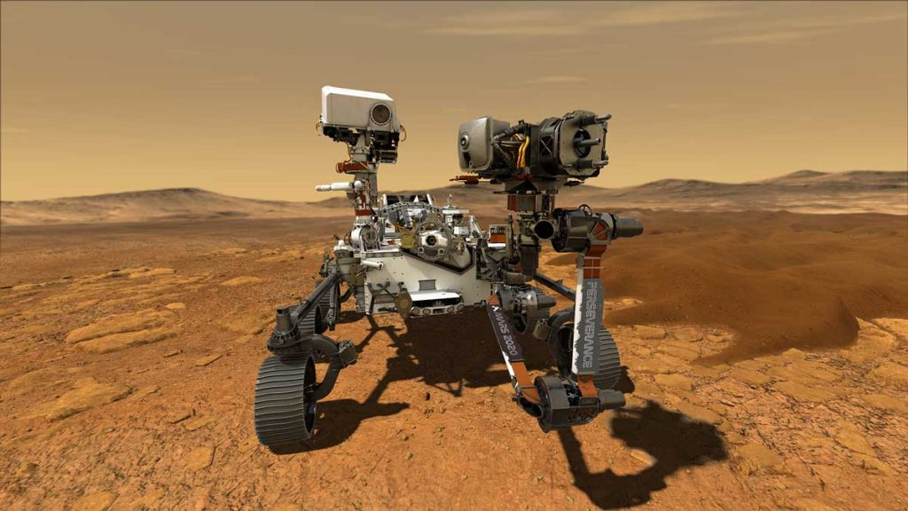 Perseverance Mars Keşif Aracı