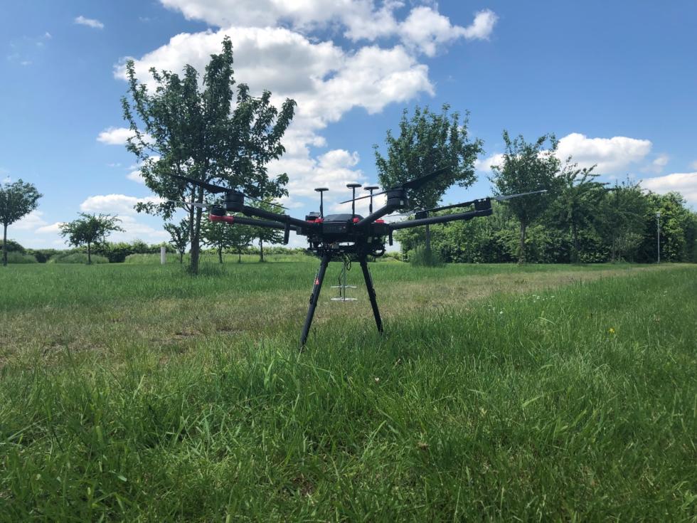 Çığlık Takibi Yapan Drone