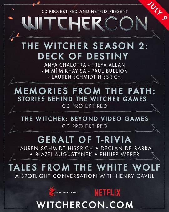 WitcherCon Akış Programı