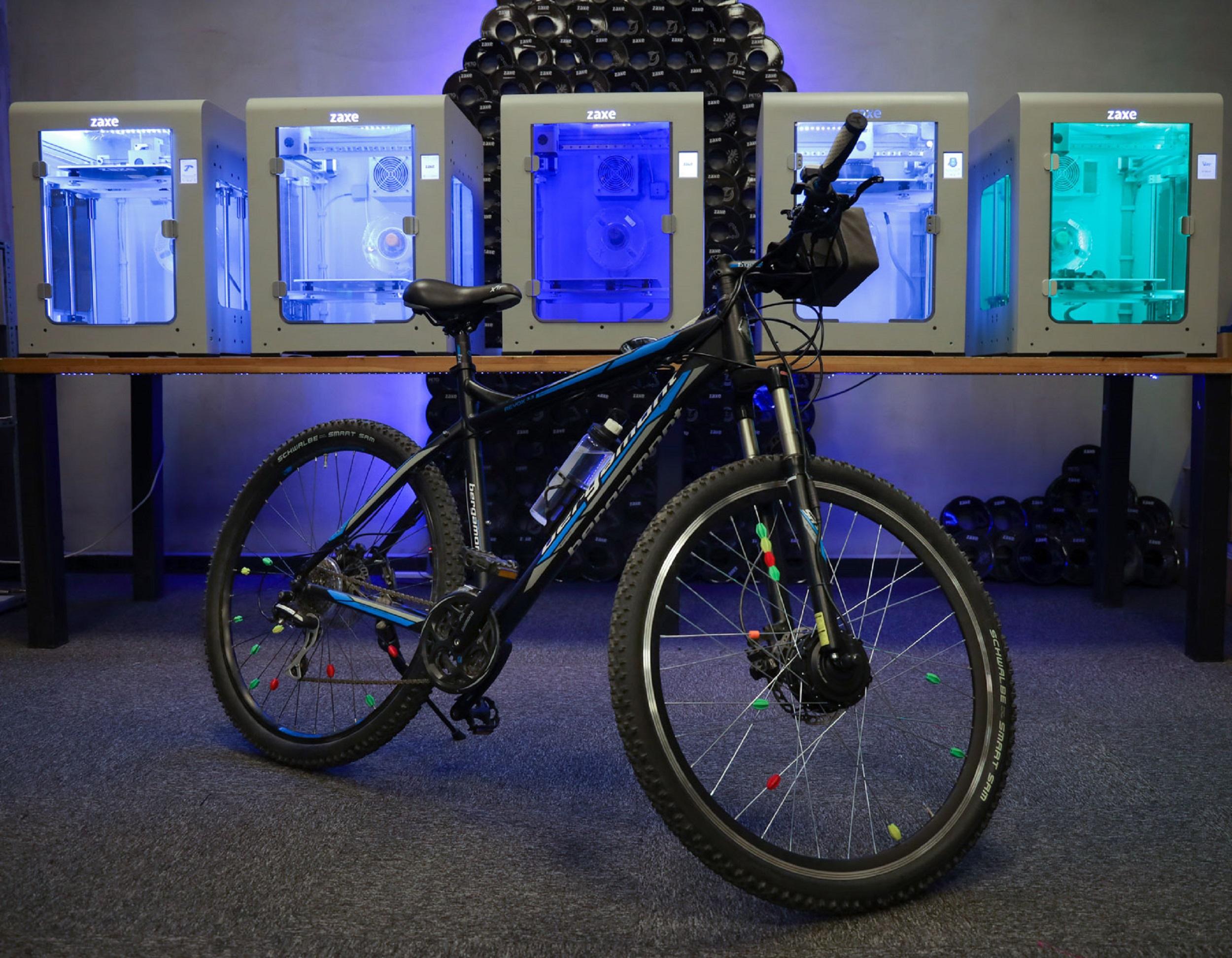 Elektirikli Bisiklet Kiti 3D Yazıcılar ile Üretiliyor