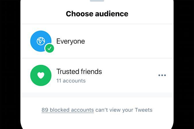 Twitter Güvenilir Arkadaşlar