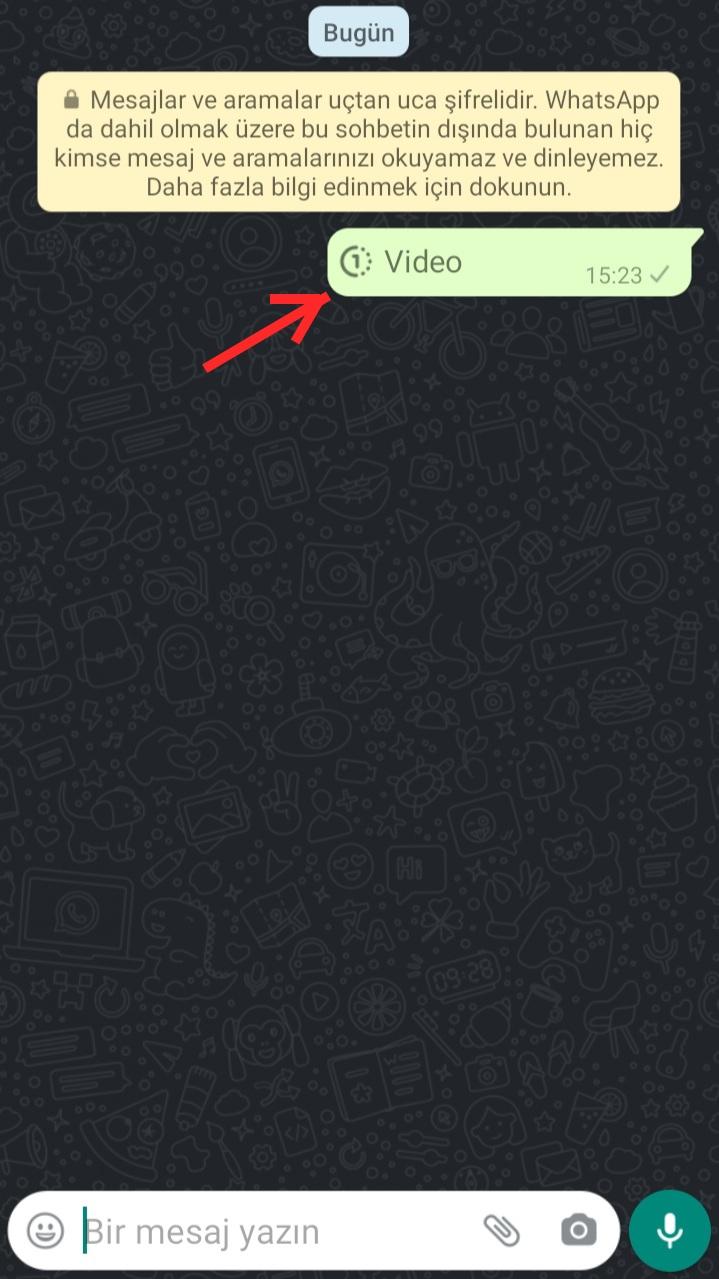 WhatsApp Bir Kez Görüntüle Özelliği Nedir?