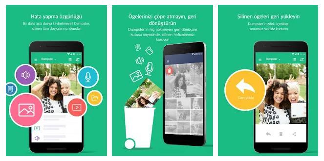 Telefonunuzdan Silinen Fotoğraf ve Videoları Geri Getirme