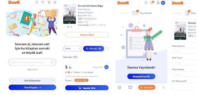 İkinci El Kitap Online Alışveriş Uygulaması