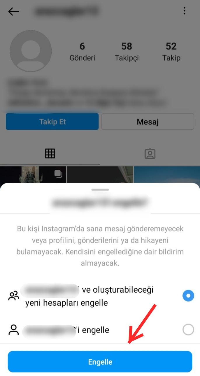 Instagram'dan Engelledim Nasıl Kaldırırım?